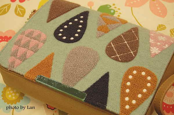 ミニラボminilaboサガラ刺繍バッグ