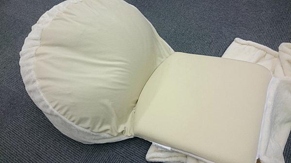 なめらか肌触りのふわふわうたた寝クッション