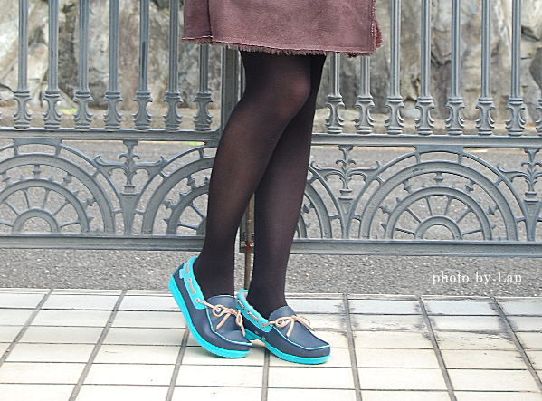 クロックスwrap ColorLite lined loafer