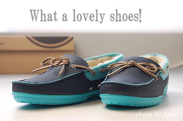クロックスwrap ColorLite lined loafer