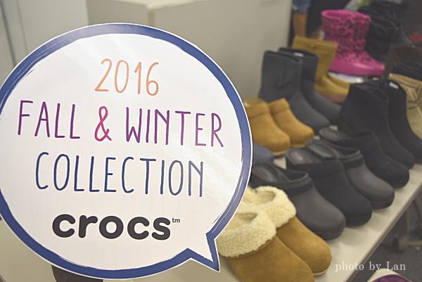 2016 crocs秋冬コレクション