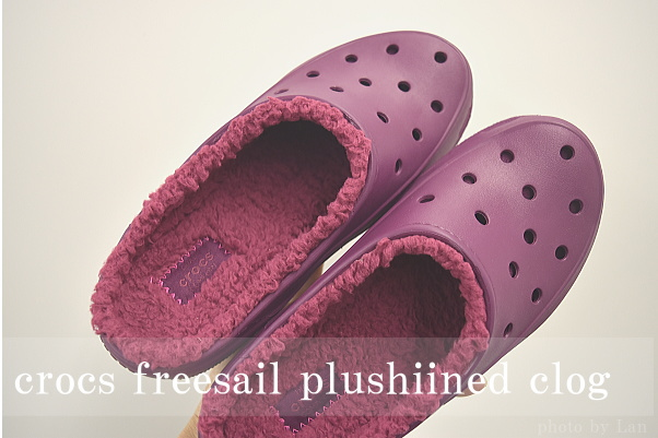 クロックスcrocs freesail plushlined clog