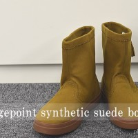 クロックスcrocs lodgepoint synthetic suede boot
